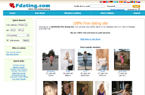 Free dating site links