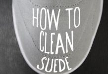 How to Clean Suede Shoes at Home