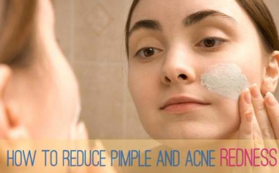 How to reduce pimple swelling overnight