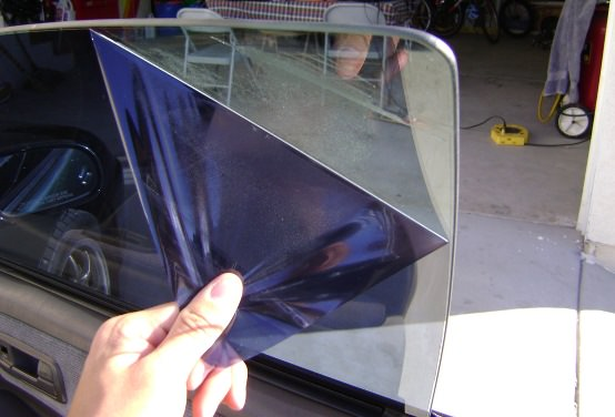 How to remove a window tint