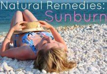 How to Get Rid of Sunburn - Natural Sunburn Remedies