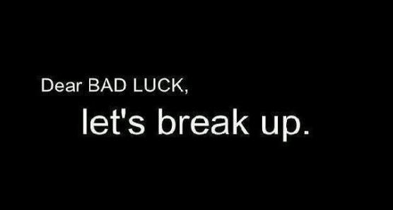 How To Get Rid Of Bad Luck