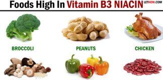 Foods High In Vitamin B3 Niacin