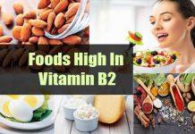 Foods high in Vitamin B2