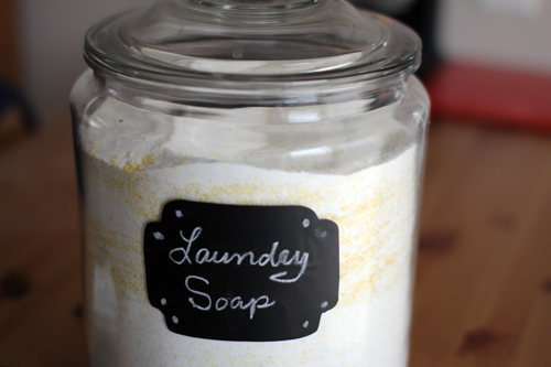 Homemade Laundry Detergents