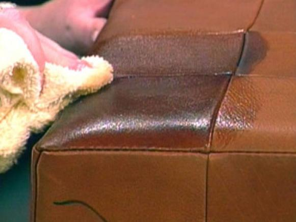 how to clean leather sofa home remedy