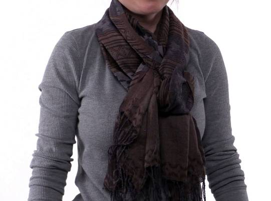 How to wear a scarf ( celebrity loop)