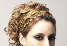 Grecian goddsess updos for curly hair