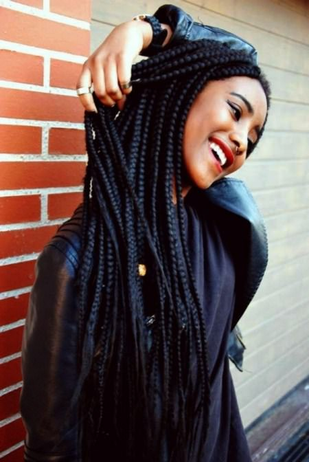 Perfect box braid long box braids