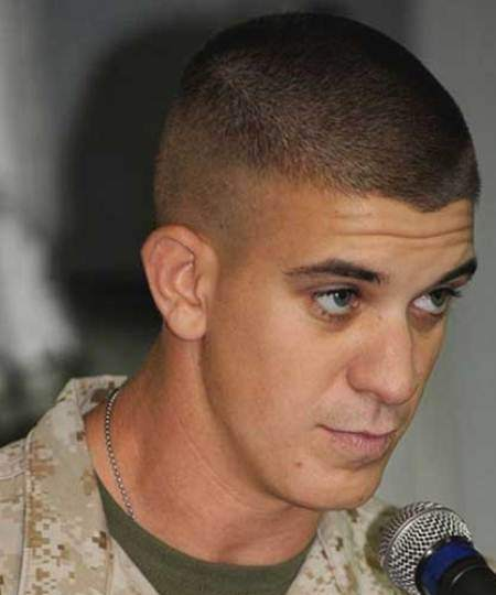 Short Army Haircuts For Men 34