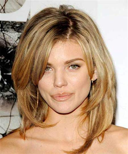 Shoulder length layered medium layered haircuts