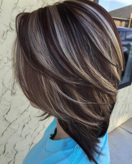20 Glamorous Hairstyles For Dark Brown Hair