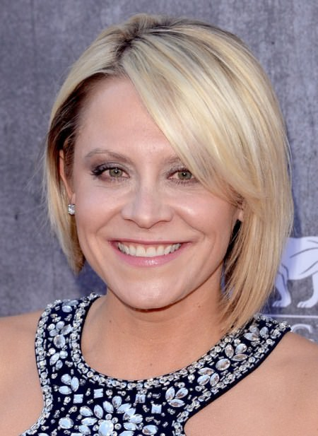 asymmetrical bob short hairstyles for women over 50