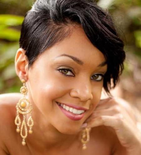20 Fancy Short Hairstyles for Black Women