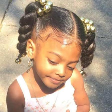 braided pigtails black girl hairstyles