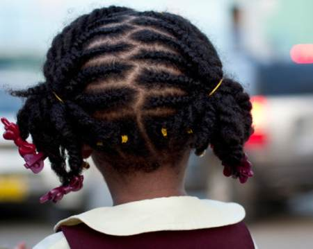 braids and ponytails black girl hairstyles