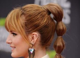 bubbly pony side hairstyles for prom night