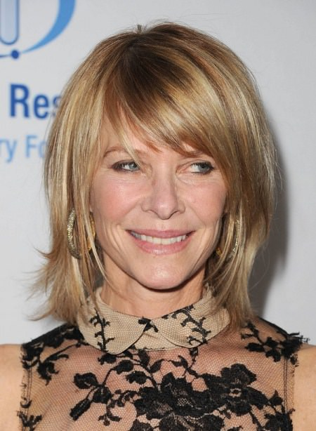 face framing bangs short hairstyles for women over 50