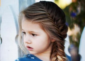 fishtail braids for kids