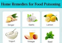 home remedies for food poisioning