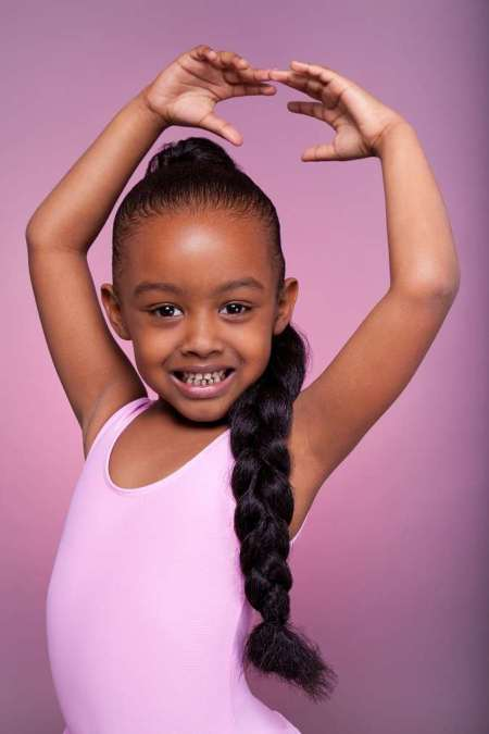 jumbo braided black girl hairstyles