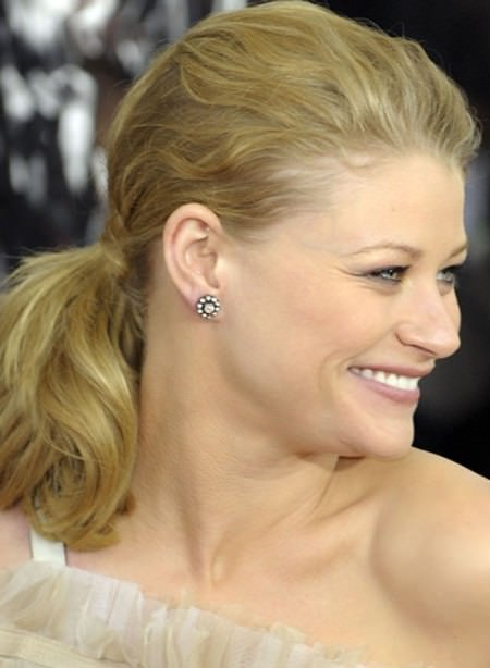 loose ponytail short hairstyles for women over 50