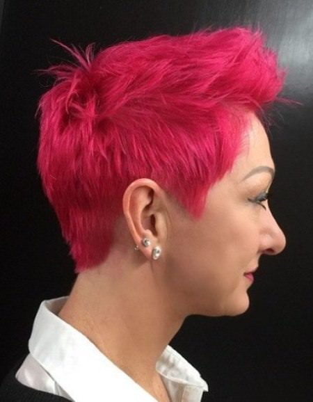magenta pixie cut different versions of the pixie