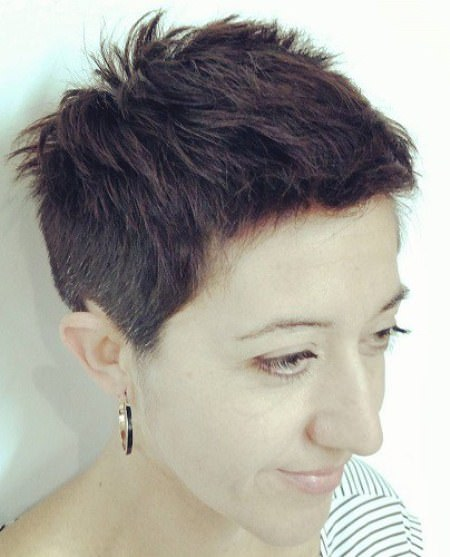 perfectly spiked cut different versions of the pixie