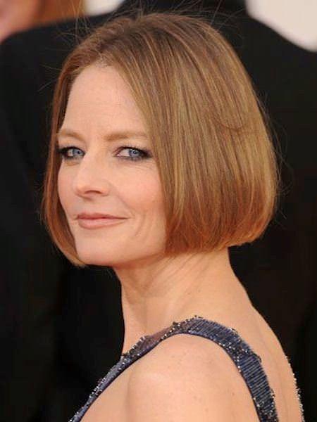 sleek chin length short bob short hairstyles for women over 50