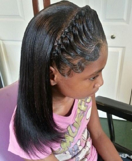 sleek half do for black girls black girl hairstyles
