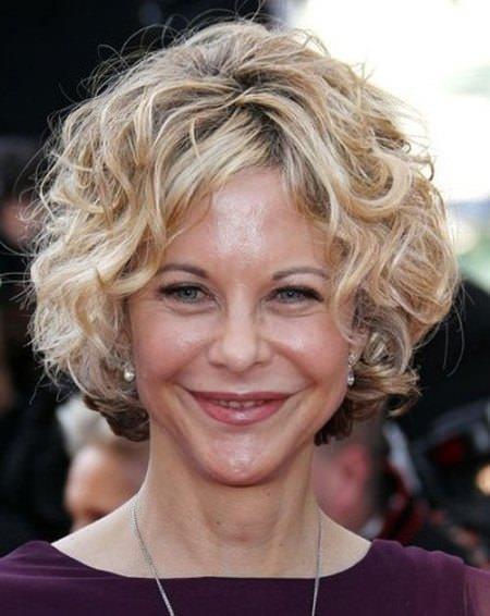 voluminous curls short hairstyles for women over 50
