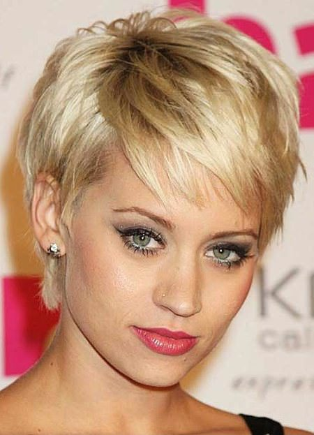 Blonde on blonde best short hair with highlights