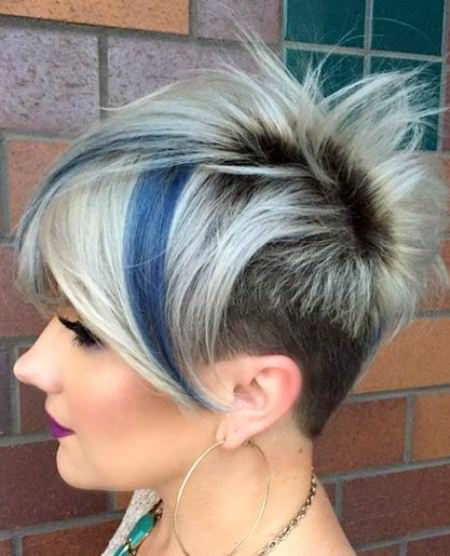 Punk rock perfection best short hair with highlights
