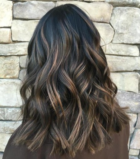 black and subtle brown hair winter hair colors