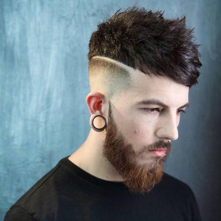 choppy taper fade cuts for men