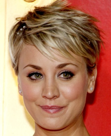 classic feathered pixie pixie haircuts with bangs