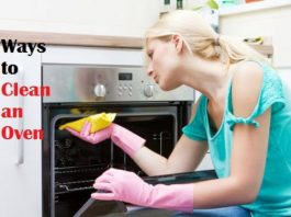 clean an oven