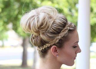 crown braided casual updos for long hair