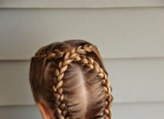 dutch braid ponytail for kids hairstyles for little girls