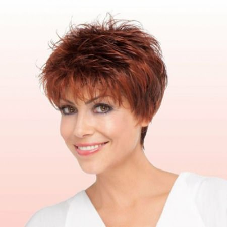 feathered pixie short hairstyles for women