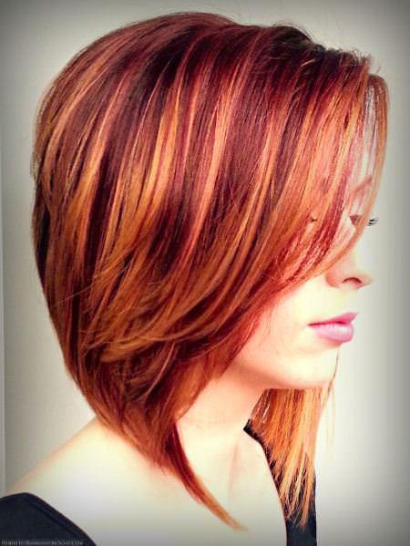 hair on fire best short hair with highlights