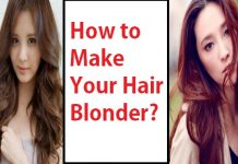 how to make your hair blonder