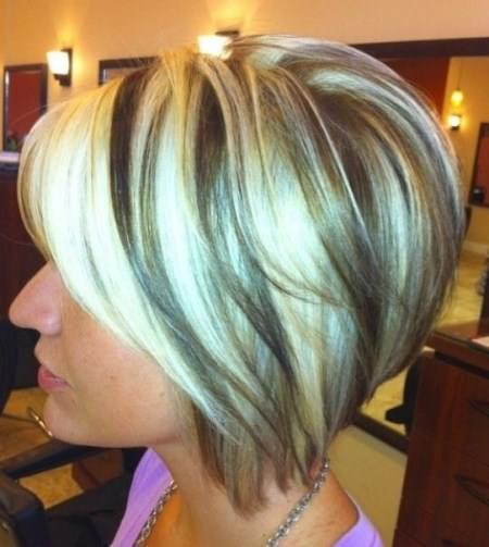 inverted bob short hairstyles for women