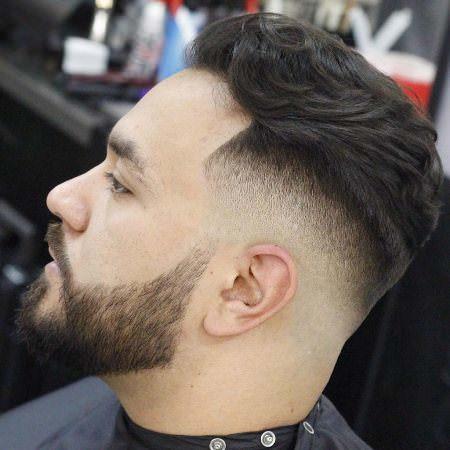 layered taper fade cuts for men
