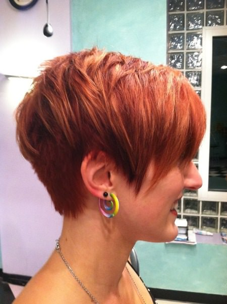 long layered pixie short hairstyles for women