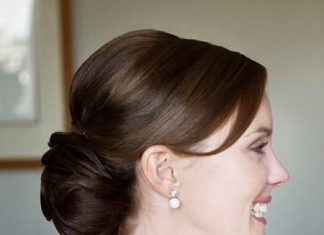 low chignon simple updos for long hair