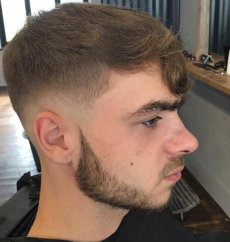 low taper fade cuts for men