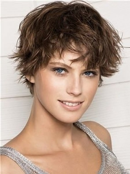 messy pixie short hairstyles for fine hair