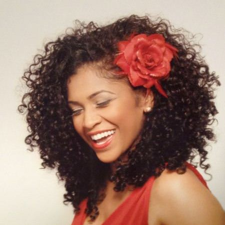natural curls valentines day hairstyles