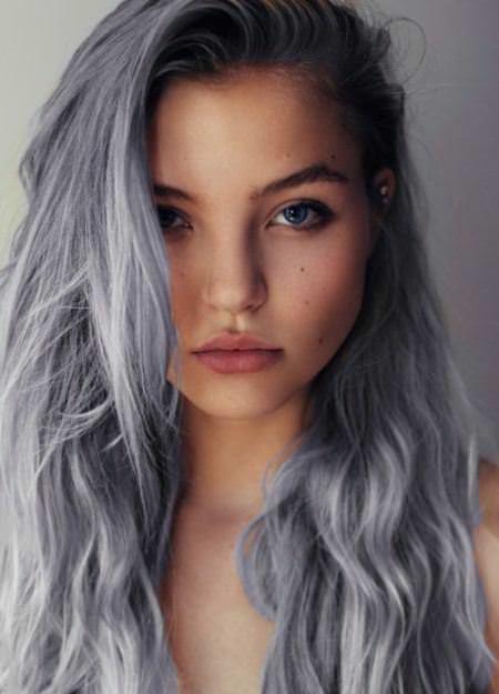 silver fox winter hair colors
